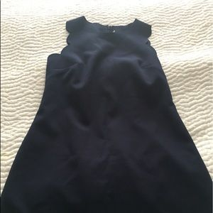 J.Crew Factory Scalloped dress SZ4